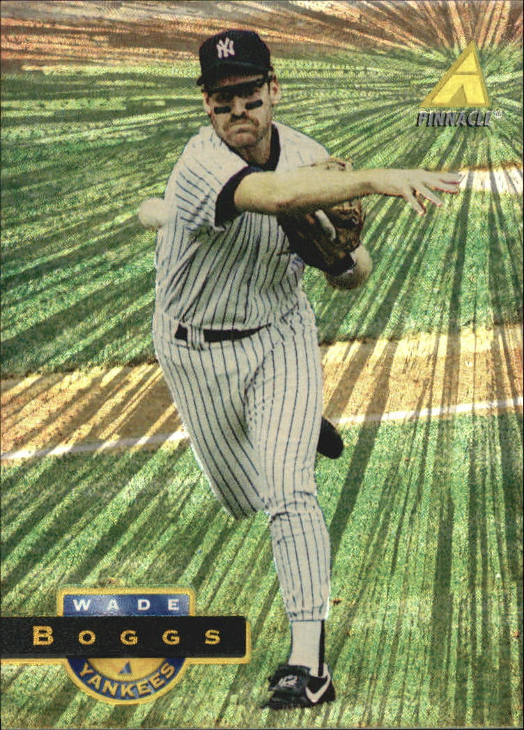 1994 Pinnacle Museum Collection #31 Wade Boggs