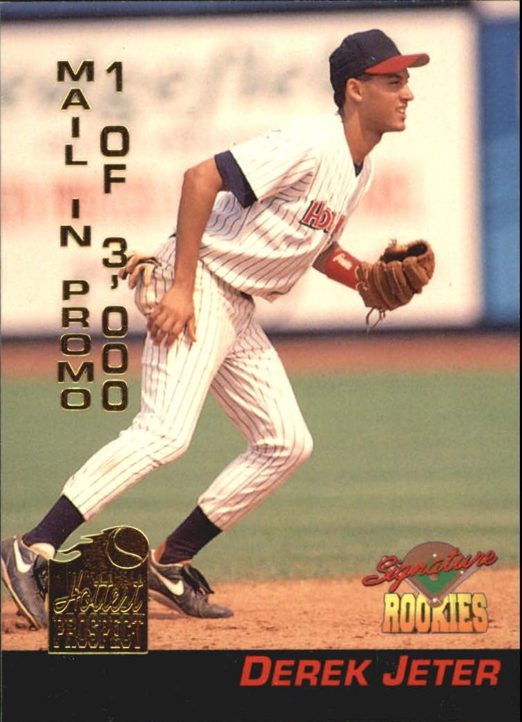 1994 Signature Rookies Hottest Prospects #S4 Derek Jeter