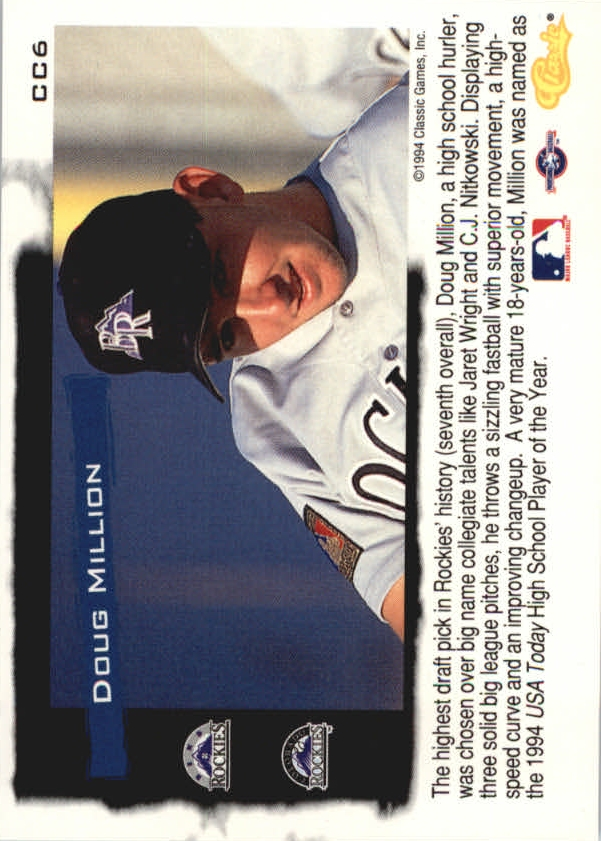 1994-Classic-Update-Cream-of-the-Crop-Baseball-1-20-Your-Choice-COMBINE-S-H thumbnail 7