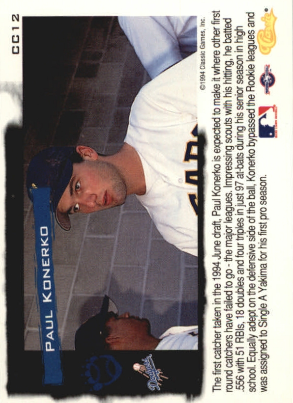 1994-Classic-Update-Cream-of-the-Crop-Baseball-1-20-Your-Choice-COMBINE-S-H thumbnail 11