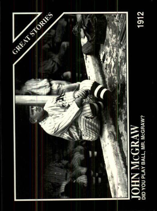 1994 Conlon TSN #1001 John McGraw