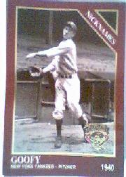 1994 Conlon TSN Burgundy #1063 Lefty Gomez