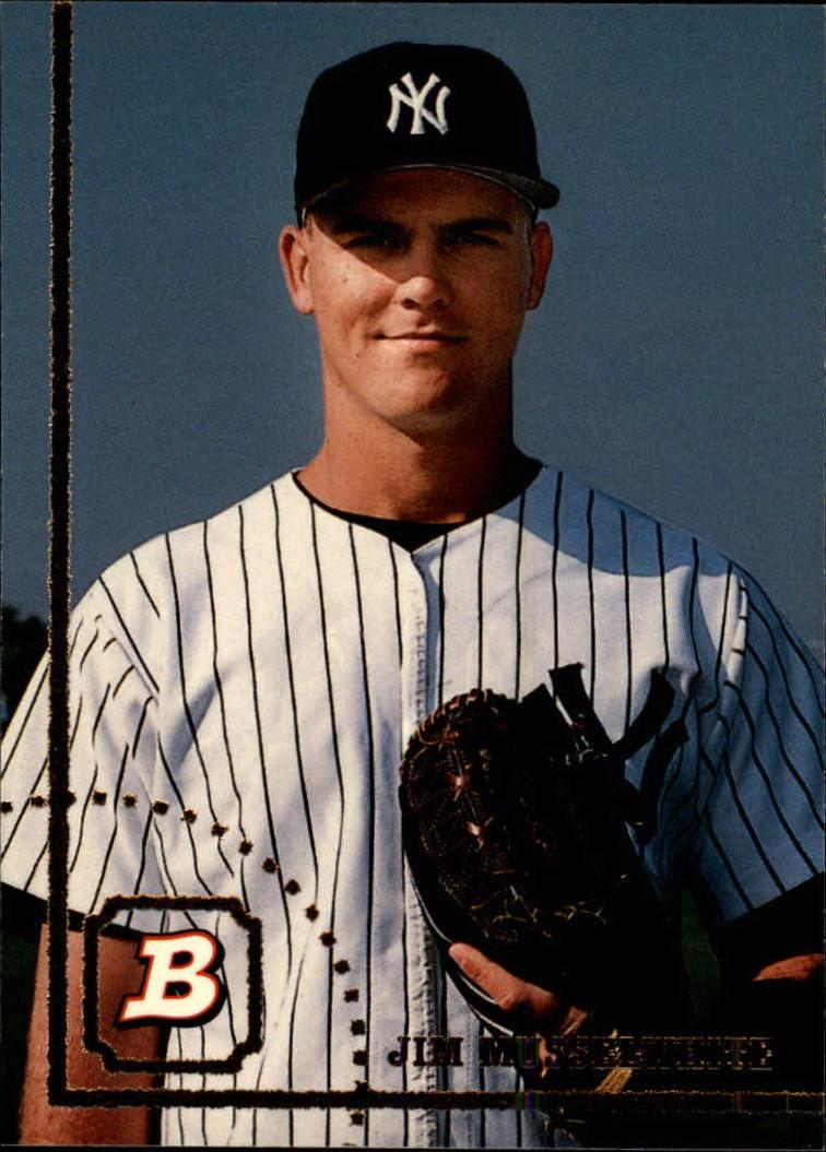 1994 Bowman #27 Jim Musselwhite RC