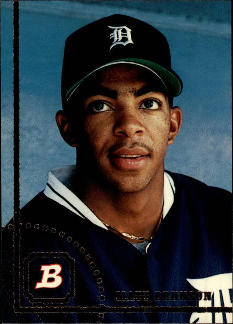 1994 Bowman #28 Matt Brunson RC