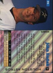 1994 Bowman #34 John Hudek RC back image