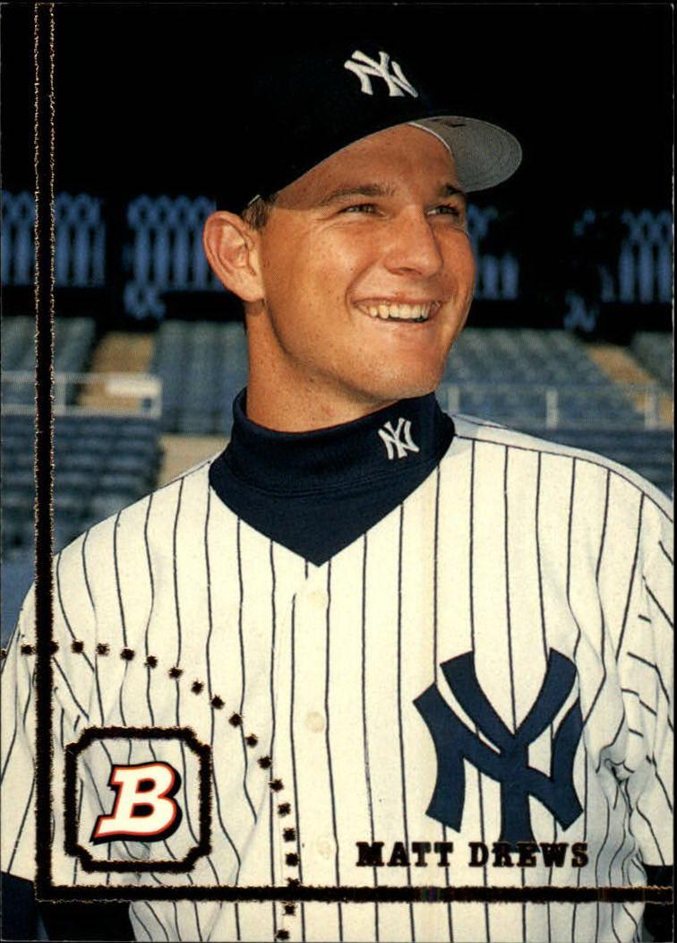 1994 Bowman #53 Matt Drews RC