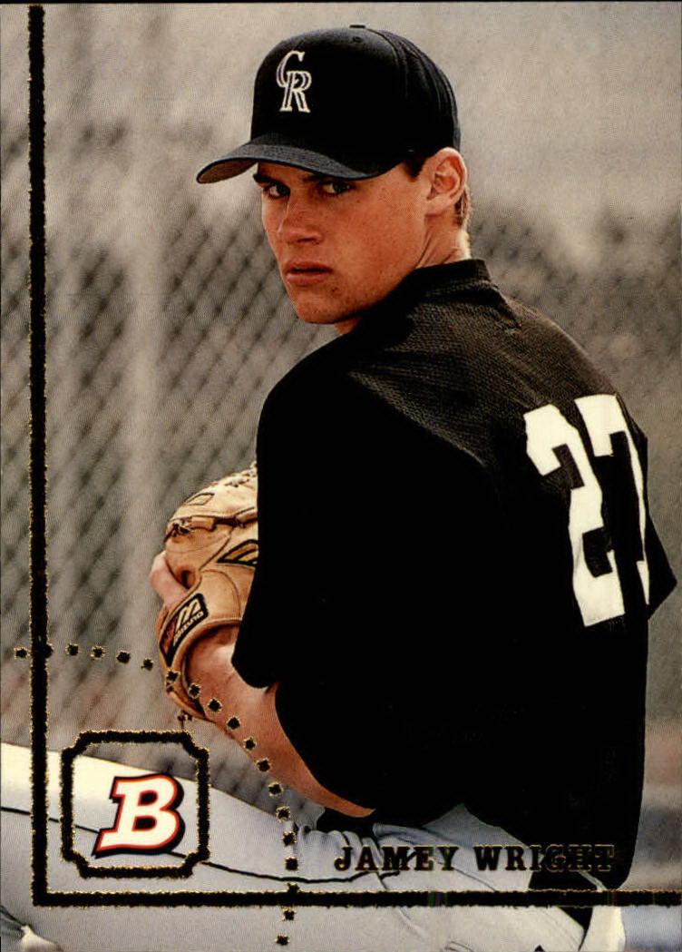 1994 Bowman #58 Jamey Wright RC