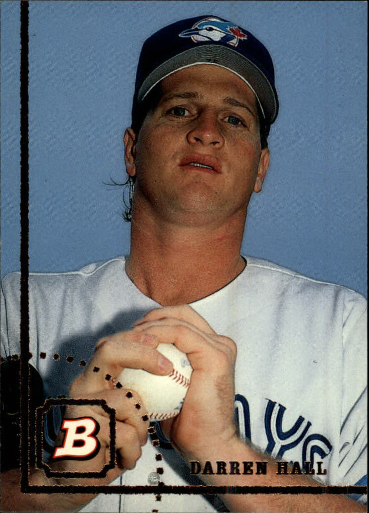 1994 Bowman #85 Darren Hall RC