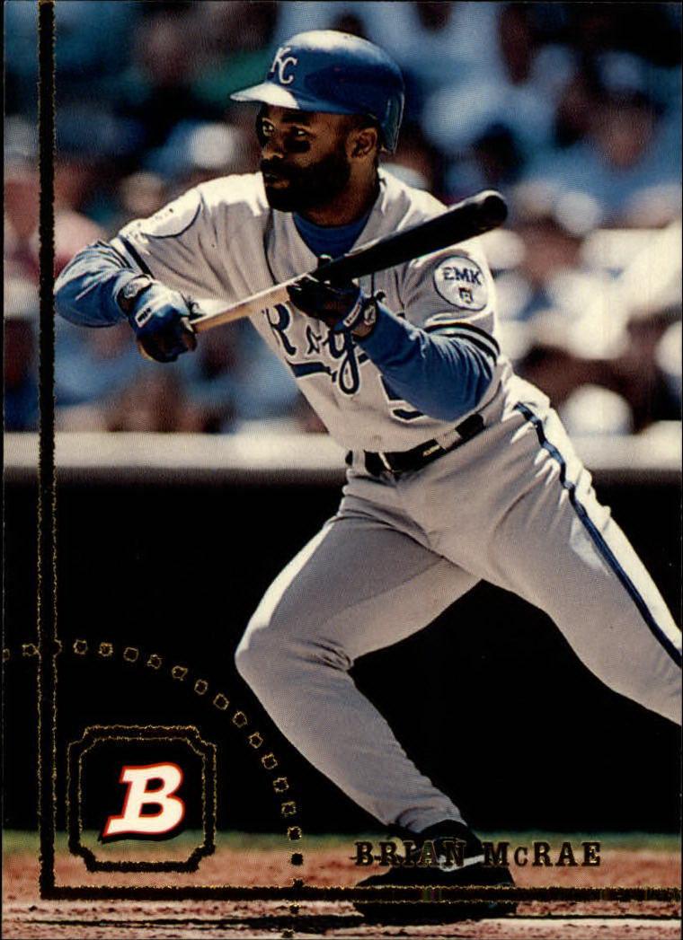 1994 Bowman #115 Brian McRae