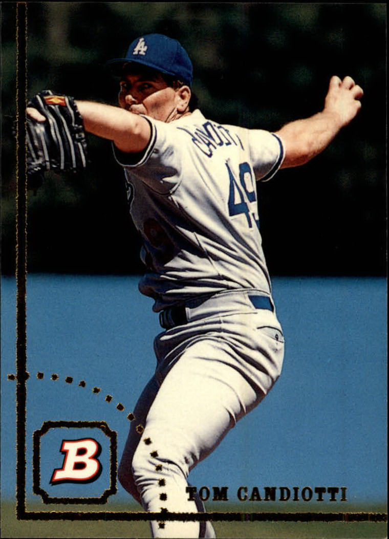 1994 Bowman #126 Tom Candiotti