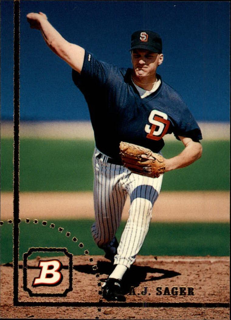 1994 Bowman #474 A.J.Sager RC
