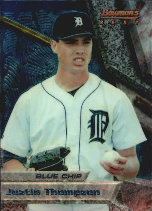 1994 Bowman's Best #B6 Justin Thompson