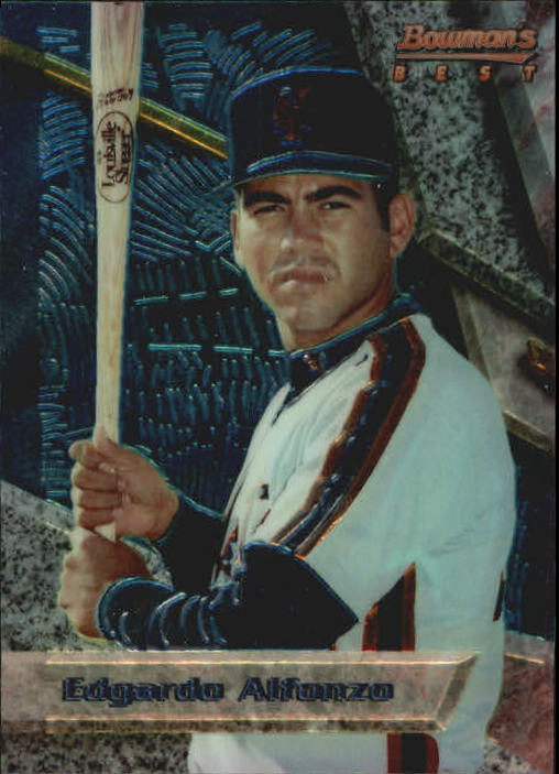 1994 Bowman's Best #B13 Edgardo Alfonzo RC