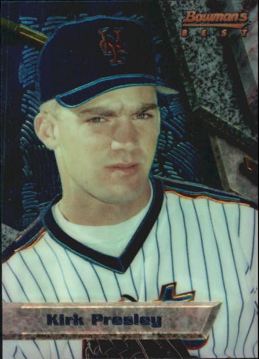 1994 Bowman's Best #B26 Kirk Presley RC