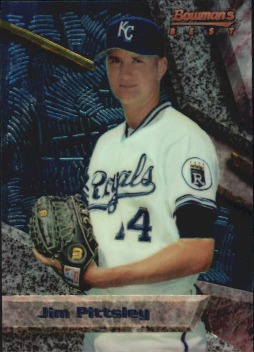 1994 Bowman's Best #B48 Jim Pittsley RC