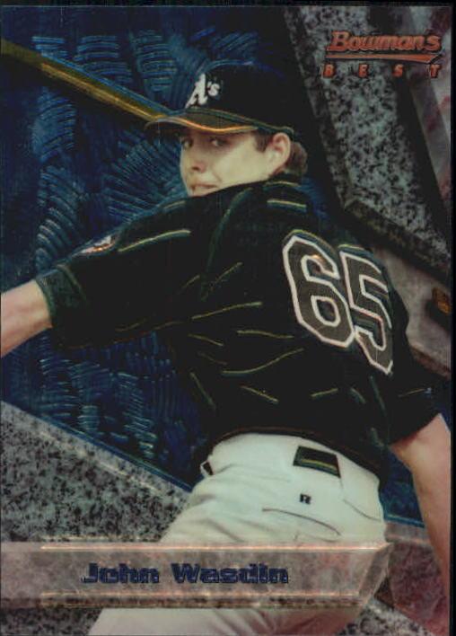 1994 Bowman's Best #B49 John Wasdin RC