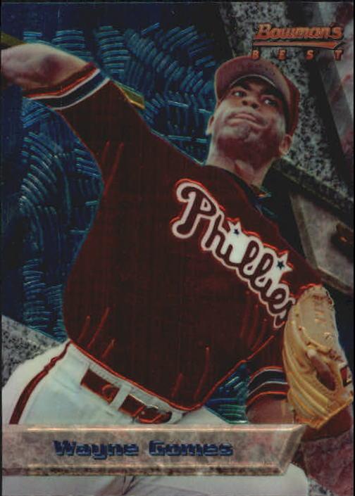 1994 Bowman's Best #B66 Wayne Gomes RC