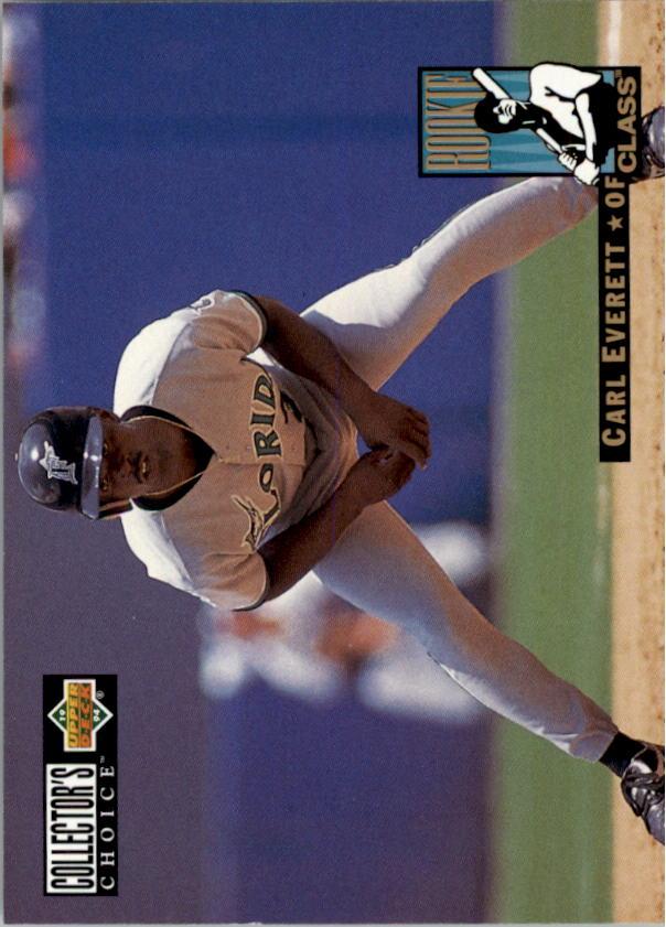 1994 Collector's Choice #6 Carl Everett