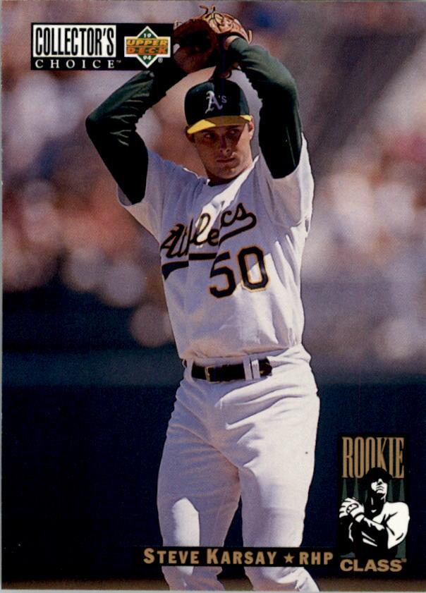 1994 Collector's Choice #13 Steve Karsay