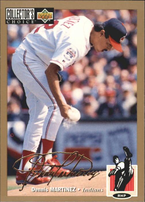 1994 Collector's Choice #546 Dennis Martinez