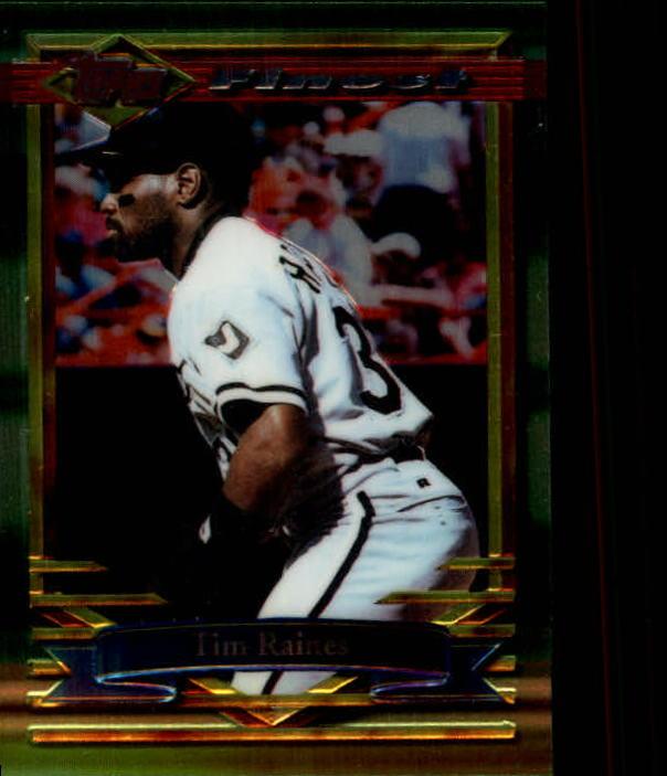 1994 Finest #192 Tim Raines