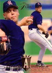 1994 Flair #19 Brian Anderson RC