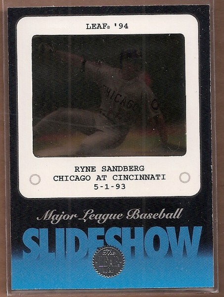 1994 Leaf Slideshow #4 Ryne Sandberg