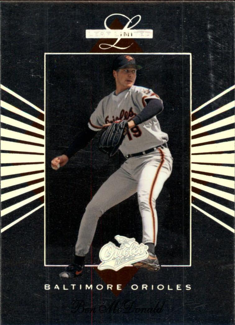 1994 Leaf Limited #2 Ben McDonald