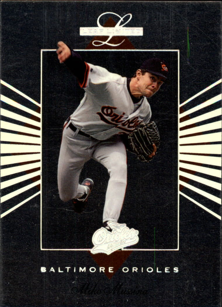1994 Leaf Limited #3 Mike Mussina