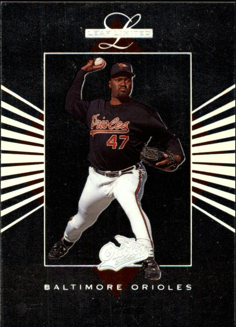 1994 Leaf Limited #6 Lee Smith