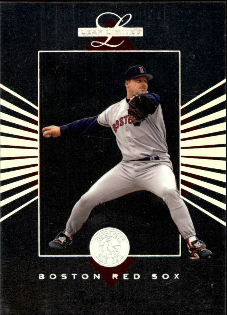 1994 Leaf Limited #7 Roger Clemens