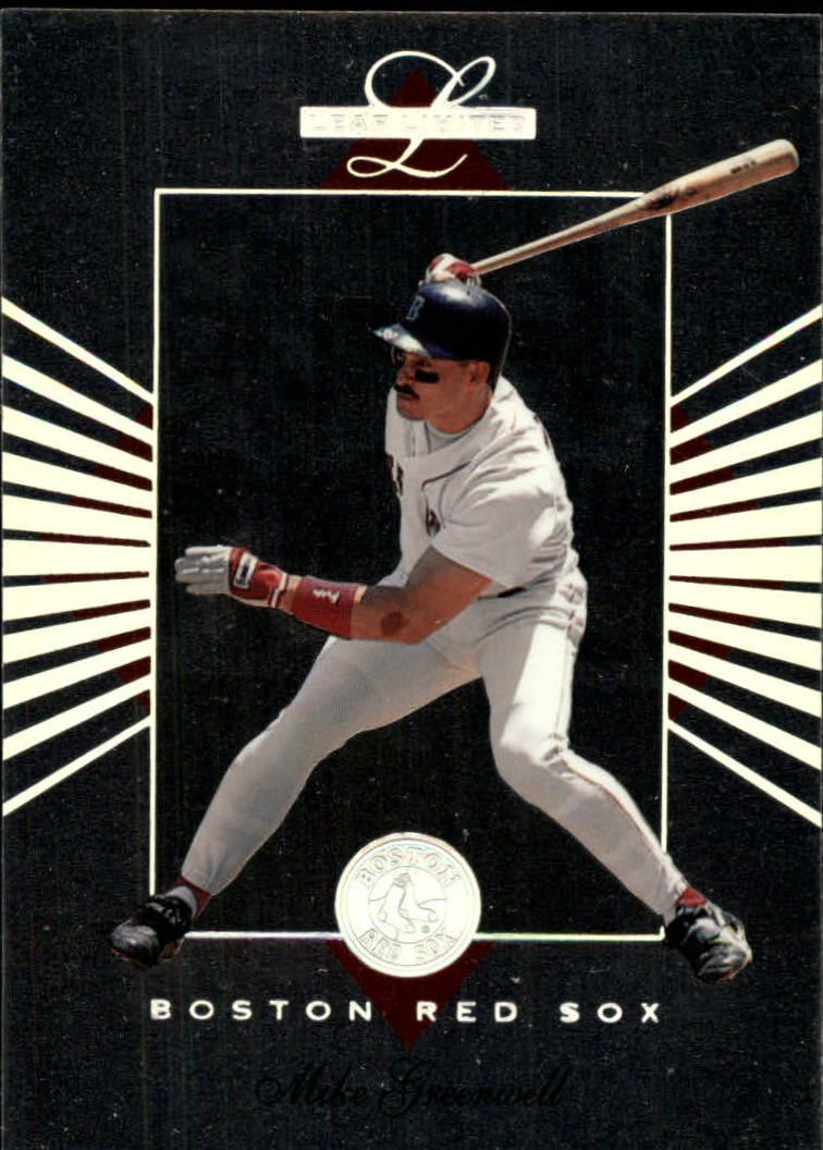 1994 Leaf Limited #10 Mike Greenwell