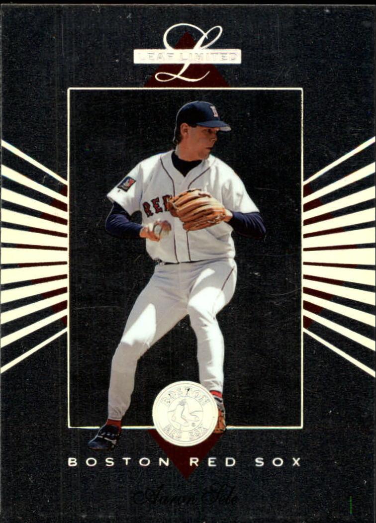 1994 Leaf Limited #11 Aaron Sele