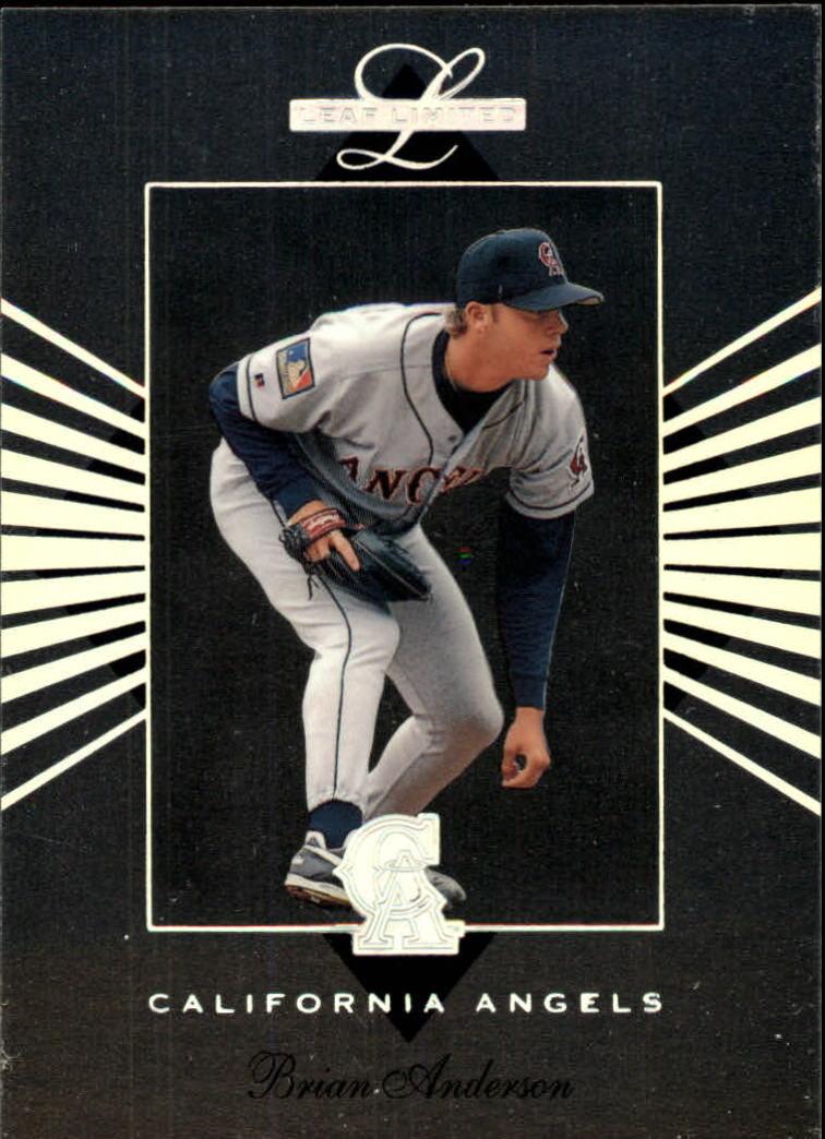 1994 Leaf Limited #13 Brian Anderson RC