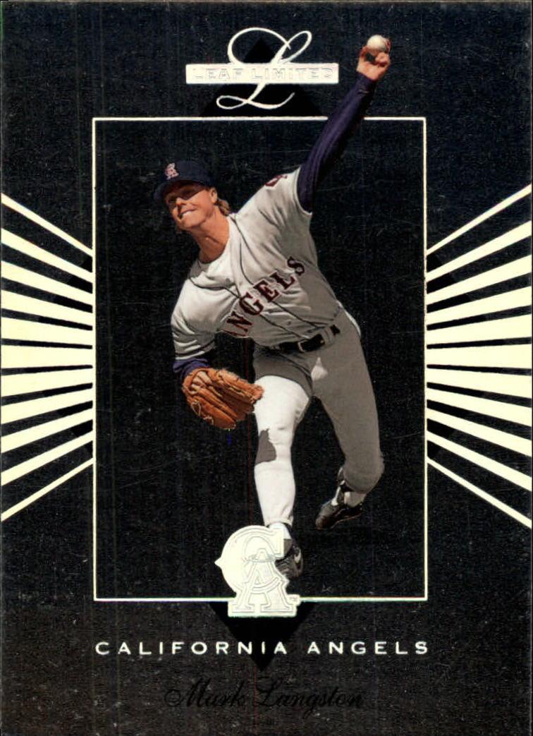 1994 Leaf Limited #17 Mark Langston