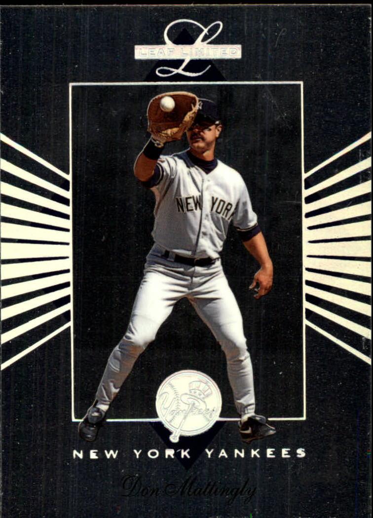 1994 Leaf Limited #56 Don Mattingly