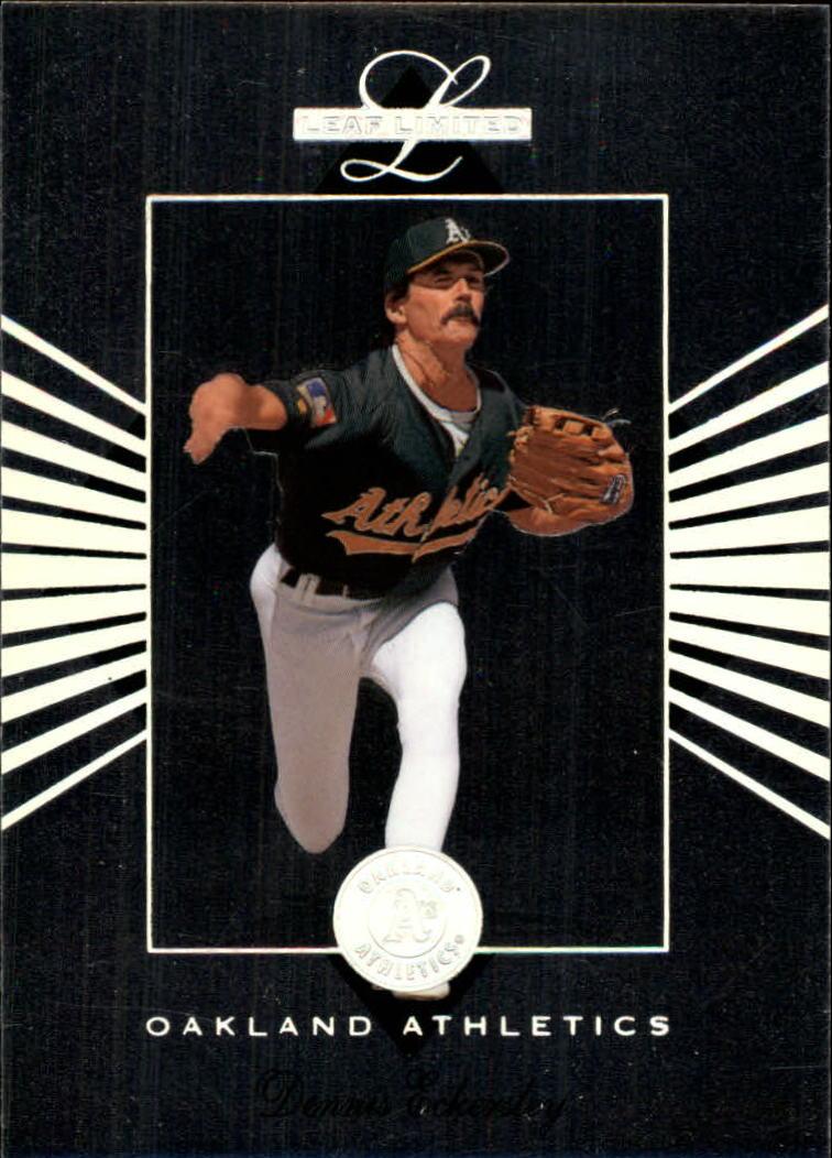 1994 Leaf Limited #59 Dennis Eckersley