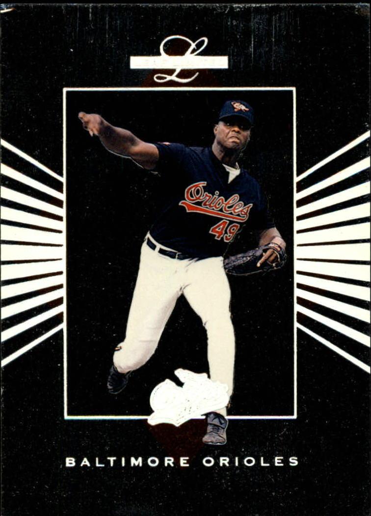 1994 Leaf Limited Rookies #74 Armando Benitez RC