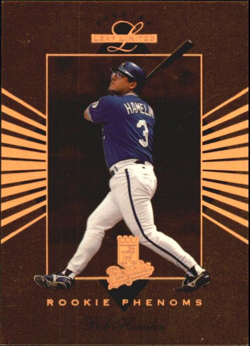 1994 Leaf Limited Rookies Phenoms #2 Bob Hamelin