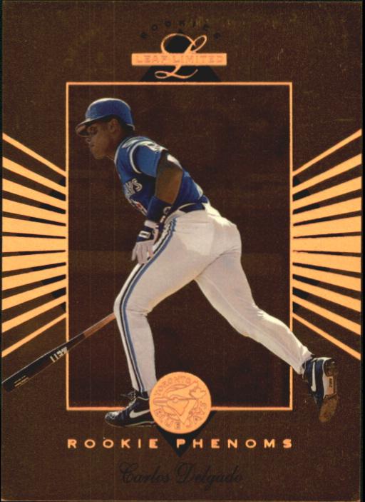 1994 Leaf Limited Rookies Phenoms #4 Carlos Delgado