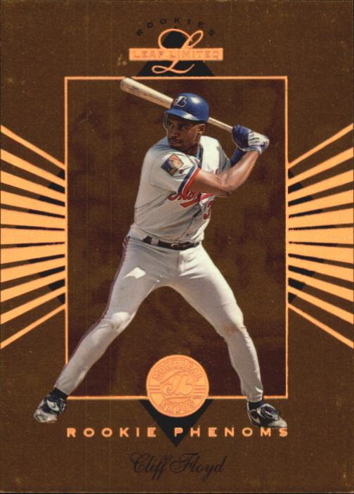 1994 Leaf Limited Rookies Phenoms #5 Cliff Floyd