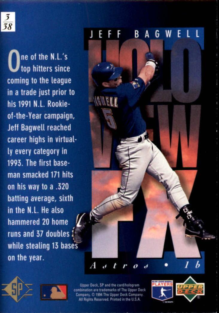 1994-SP-Holoviews-Baseball-1-38-Your-Choice-GOTBASEBALLCARDS thumbnail 7