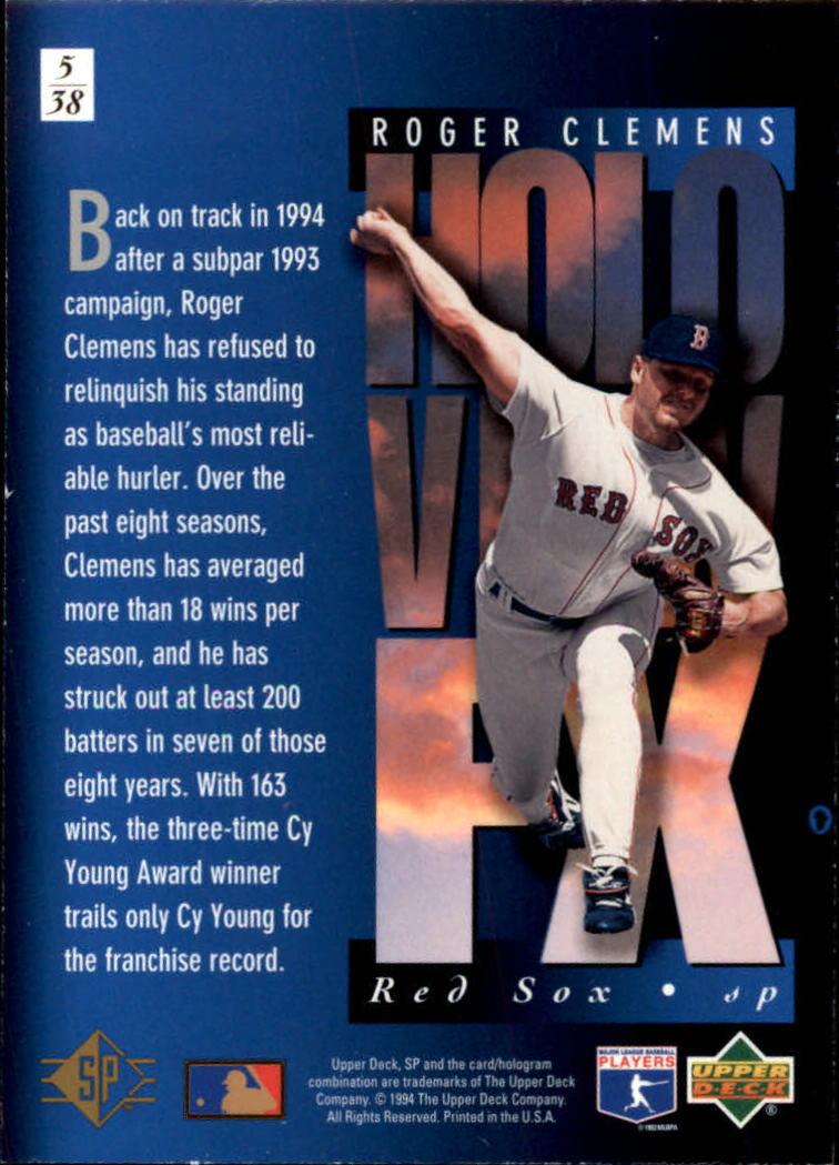 1994-SP-Holoviews-Baseball-1-38-Your-Choice-GOTBASEBALLCARDS thumbnail 11
