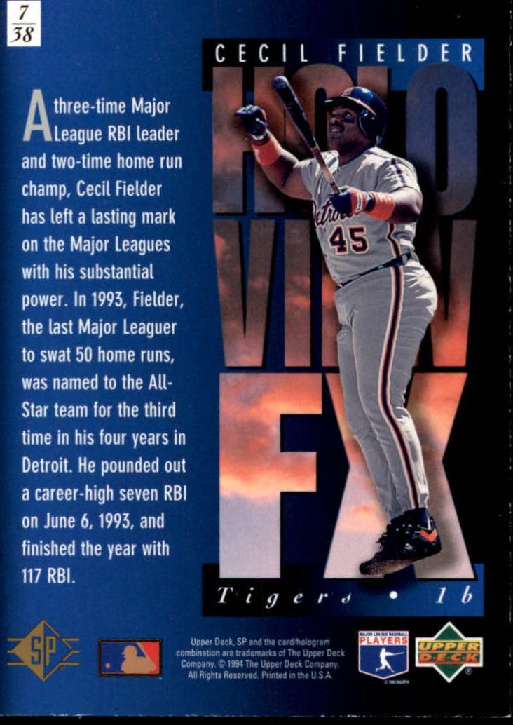 1994-SP-Holoviews-Baseball-1-38-Your-Choice-GOTBASEBALLCARDS thumbnail 13