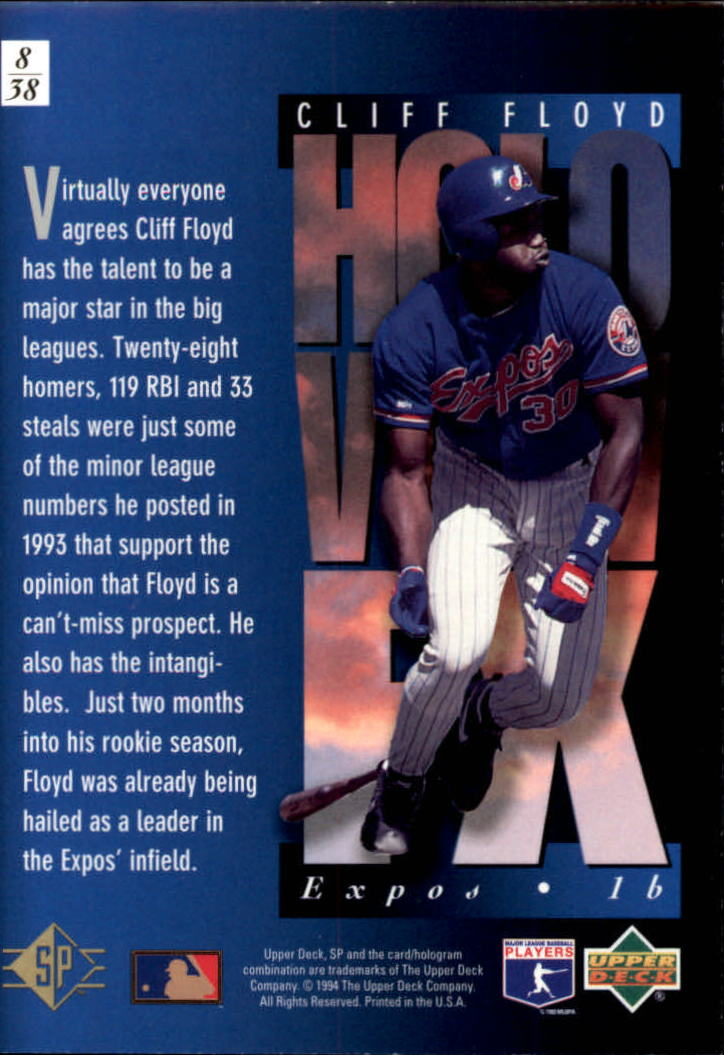1994-SP-Holoviews-Baseball-1-38-Your-Choice-GOTBASEBALLCARDS thumbnail 15