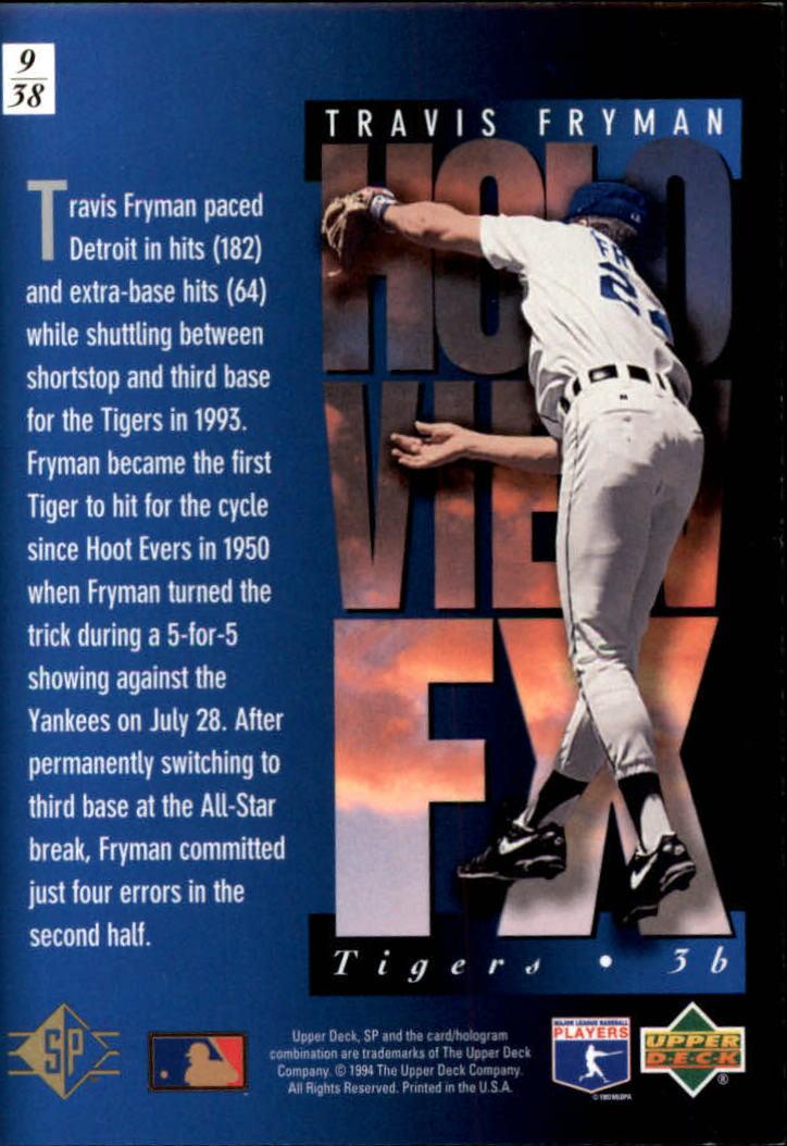 1994-SP-Holoviews-Baseball-1-38-Your-Choice-GOTBASEBALLCARDS thumbnail 17