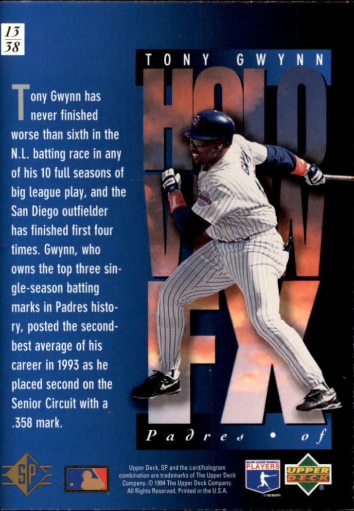1994-SP-Holoviews-Baseball-1-38-Your-Choice-GOTBASEBALLCARDS thumbnail 25