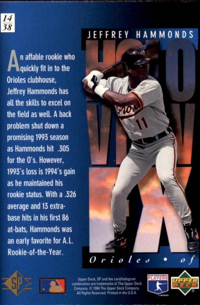 1994-SP-Holoviews-Baseball-1-38-Your-Choice-GOTBASEBALLCARDS thumbnail 27