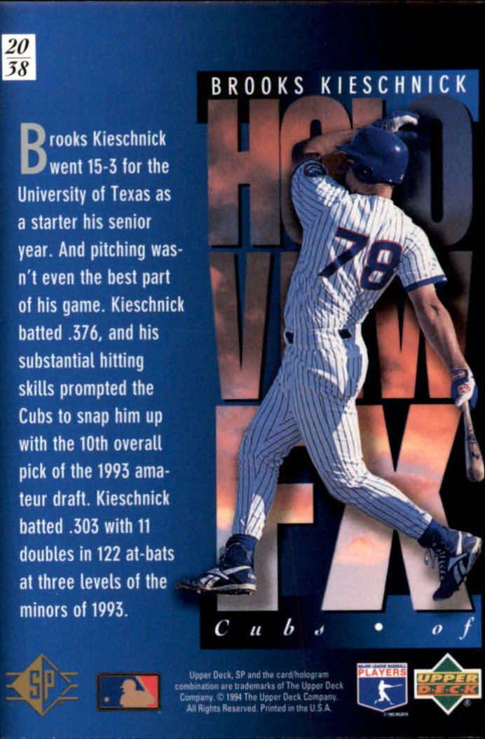 1994-SP-Holoviews-Baseball-1-38-Your-Choice-GOTBASEBALLCARDS thumbnail 33