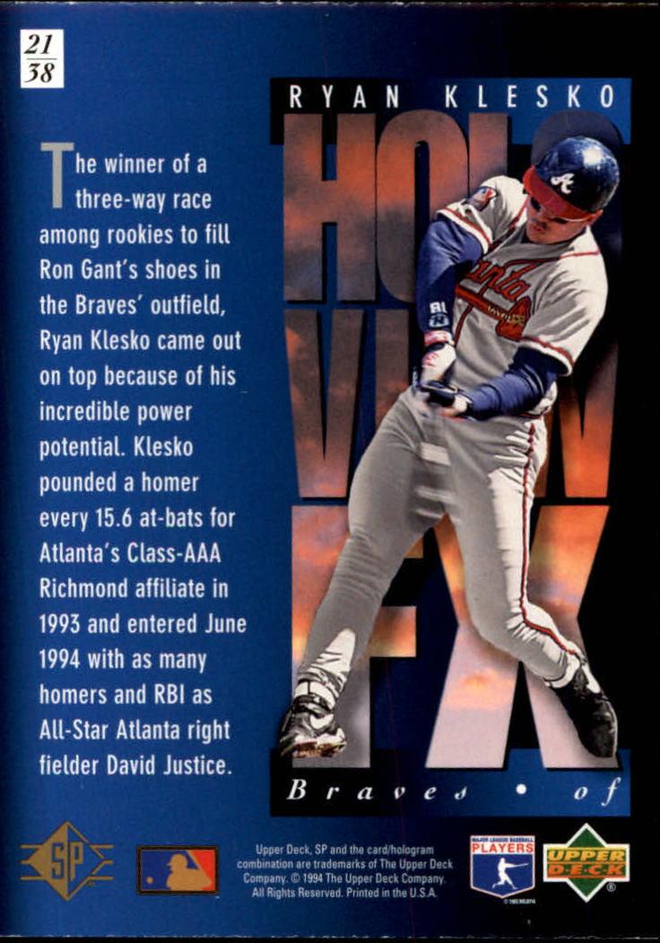 1994-SP-Holoviews-Baseball-1-38-Your-Choice-GOTBASEBALLCARDS thumbnail 35